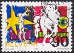 Stamps : Europe : Switzerland :  circo