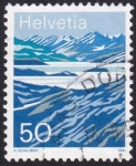Stamps : Europe : Switzerland :  lago Moesola