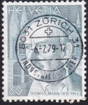Stamps : Europe : Switzerland :  Thomas Mann