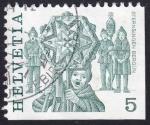 Stamps Switzerland -  Sternsingen