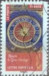 Stamps France -  Scott#xxxxb , intercambio 0,50 usd. L.Verte 20 gr. 2014