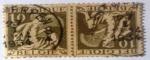 Stamps : Europe : Belgium :  1932 Belgium tête-beches