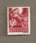 Stamps Hungary -  Santa Margarita