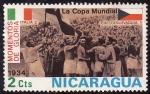 Stamps Nicaragua -  Momentos de gloria