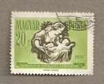 Stamps Hungary -  Madre con niño