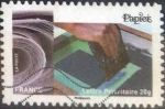 Stamps : Europe : France :  Scott#xxxxj , intercambio 0,50 usd. L.Verte 20gr. 2015