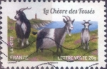 Stamps : Europe : France :  Scott#xxxxc , intercambio 0,50 usd. L.Verte 20gr. 2015