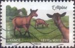 Stamps : Europe : France :  Scott#xxxxe , intercambio 0,50 usd. L.Verte 20gr. 2015