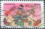 Stamps : Europe : France :  Scott#xxxxc , intercambio 0,50 usd. L.Verte 20gr. 2015