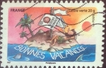 Stamps : Europe : France :  Scott#xxxxf , intercambio 0,50 usd. L.Verte 20gr. 2015