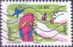 Sellos del Mundo : Europa : Francia : Scott#xxxxl , intercambio 0,50 usd. L.Verte 20gr. 2016