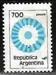 Stamps : America : Argentina :  Bandera Argentina