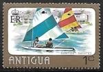 Stamps : America : Antigua_and_Barbuda :   Deportes Acuáticos | Vela