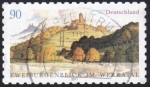 Stamps : Europe : Germany :  dos castillos valle Werra