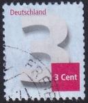 sello : Europa : Alemania : sello adicional 3 Ct