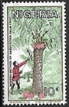 Stamps : Africa : Nigeria :  Palmeras
