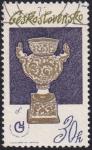 Stamps Czechoslovakia -  porcelana checa