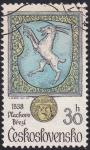 Stamps : Europe : Czechoslovakia :  escudo Vlachoro Brezi