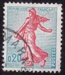 Sellos de Europa - Francia -  La sembradora
