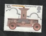 sello : Europa : Reino_Unido : 724 - Vehículo de Bomberos