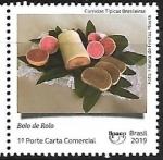Sellos de America - Brasil -  Comidas típicas - bolo de rolo