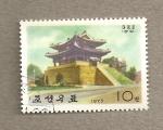 Sellos de Asia - Corea del norte -  Puerta Hyomnu