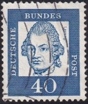 Stamps Europe - Germany -  Lessing