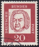 Stamps Europe - Germany -  Bach