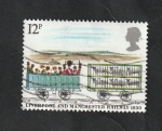 Stamps of the world : United Kingdom :  928 - 150 Anivº del ferrocarril Liverpool-Manchester