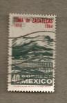 Stamps Mexico -  Toma de Zacatecas