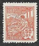 Stamps Brazil -  222 - Industria
