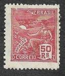 Sellos de America - Brasil -  303 - Aviación