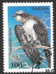 Stamps of the world : Tanzania :  aves