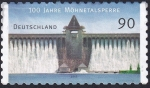 Stamps : Europe : Germany :  100 años presa Möhnetal