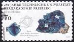 Sellos del Mundo : Europa : Alemania : 250 años universidad Freiberg