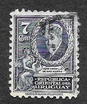 Stamps Uruguay -  446 - Juan Zorrilla de San Martín