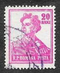 Stamps : Europe : Romania :  1027 - Minero