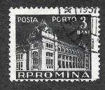 Stamps : Europe : Romania :  J115 - Oficina General de Correos
