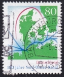 Sellos de Europa - Alemania -  100 años Canal Nord-Ostsee