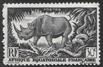Stamps of the world : France :  fauna