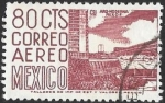 Stamps of the world : Mexico :  arquitectura