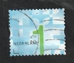 Stamps : Europe : Netherlands :  3118 - Cifra