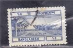 Stamps : Asia : Bangladesh :  AEROPUERTO