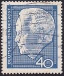Stamps Germany -  Lübke 40