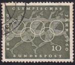 Sellos del Mundo : Europa : Alemania : año olímpico 190