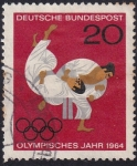 Sellos de Europa - Alemania -  año olímpico 1964