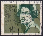 Stamps Germany -  Ricarda Huch