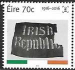 Sellos del Mundo : Europa : Irlanda :  Bandera de la República Irlandesa