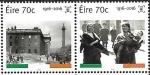 Sellos del Mundo : Europa : Irlanda :  Oficina Postal en Sackville Street, Dublin - 100 aniv. Levantamiento de Pascua-