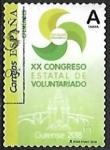 Sellos de Europa - España -  XX Congreso Estatal de Voluntariado